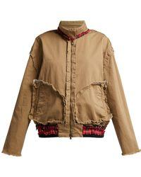 Vetements - Inside-out Cotton Harrington Jacket - Lyst