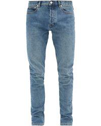 A.P.C. Petit New Standard Slim-leg Jeans - Blue