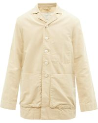 Toogood The Photographer Patch-pocket Cotton-canvas Jacket - Natural