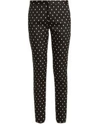 Giambattista Valli - Polka Dot Tailored Trousers - Lyst