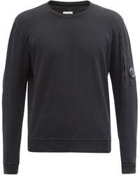 C.P. Company コットンスウェットシャツ - ブラック