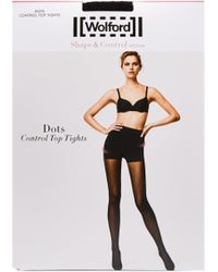 Wolford Collants Dots - Noir