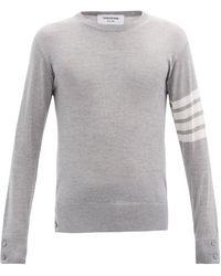 Thom Browne - 4bar ウールセーター - Lyst
