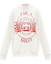 Gucci コットンスウェットパーカー - マルチカラー