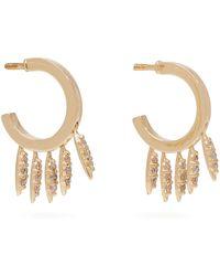 Ileana Makri - Grass Fringe Diamond And 18kt Gold Earrings - Lyst