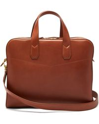 Dunhill - Duke Leather Briefcase - Lyst