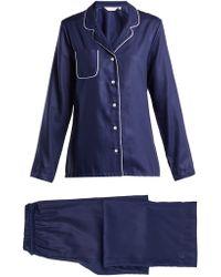 Derek Rose - Lombard 6 Cotton Pyjama Set - Lyst