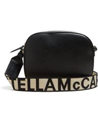 Stella McCartney - Logo Faux Leather Cross Body Bag - Lyst