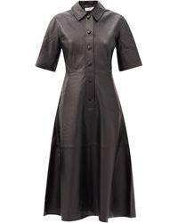 Co. - レザーシャツドレス - Lyst