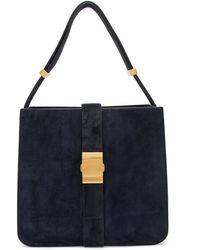 Bottega Veneta - The Marie Suede Shoulder Bag - Lyst