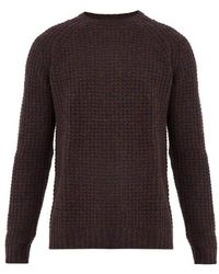 Saturdays NYC - Miguel Waffle-knit Sweater - Lyst