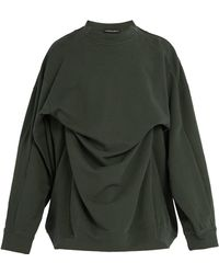 Y. Project - Double-layer Cotton Sweatshirt - Lyst