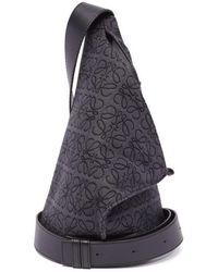 Loewe アントン スリング キャンバスバックパック - マルチカラー