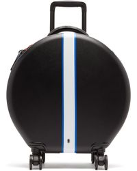 OOKONN Front-stripe Circular Cabin Suitcase - Multicolour
