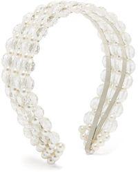 Shrimps Serre-tête façon perle et perles Quinn - Multicolore