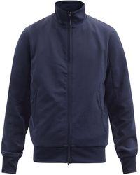 Y-3 ロゴプリント トラックジャケット - ブルー