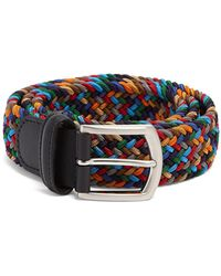 Andersons Strtch Woven Multi Col Belt - Multicolour