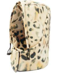 Kassl Capuche à cordon coulissant et imprimé léopard Tec - Multicolore