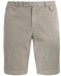 Boglioli - Slim-leg Cotton-blend Shorts - Lyst