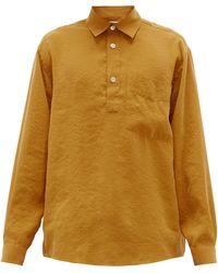 Schnayderman's - パッチポケット クレープシャツ - Lyst