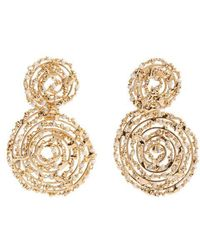 Rosantica By Michela Panero - Pizzo Bead-embellished Spiral Drop Earrings - Lyst