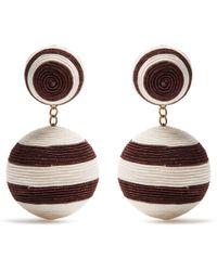 Rebecca de Ravenel - Pepper Drop Earrings - Lyst