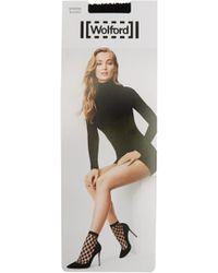 Wolford - Athina Fishnet Socks - Lyst