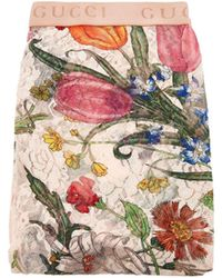 Gucci Logo Jacquard Lace Tights - Multicolour