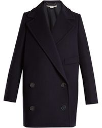 Stella McCartney | Edith Double-breasted Wool-blend Coat | Lyst