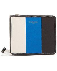 Balenciaga - Bazar Zip-around Leather Wallet - Lyst