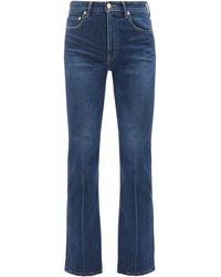 Tu Es Mon Tresor Amethyst High-rise Flared-leg Jeans - Blue