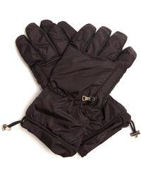 Prada | Padded Nylon Gloves | Lyst