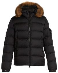Moncler - Marque Quilted Down Jacket - Lyst