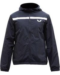 Castore Hooded Technical-shell Rain Jacket - Blue