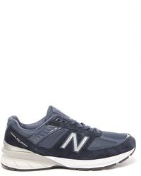 New Balance ネイビー Made In Us 990 V5 スニーカー - ブルー