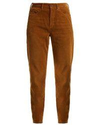 Saint Laurent - Straight-leg Corduroy Jeans - Lyst
