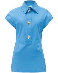Bottega Veneta - コーティングキャンバスシャツ - Lyst