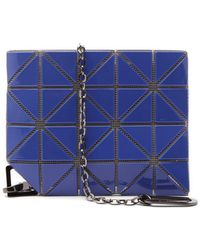Bao Bao Issey Miyake Flipper Pvc Lanyard Chain Pouch - Blue