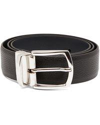 Andersons Reversible Leather Belt - Black