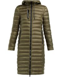 Moncler Suvette Quilted Down Coat - Green
