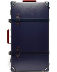 """Globe-Trotter St. Moritz 30"""" Check-in Suitcase - Blue"""