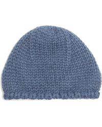 Bottega Veneta Cashmere Beanie Hat - Blue