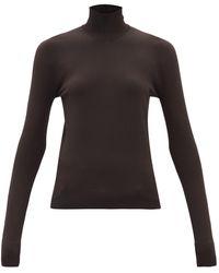 Bottega Veneta タートルネックセーター - ブラウン