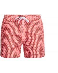 "Onia - Charles 5"" Liberty Print Swim Shorts - Lyst"