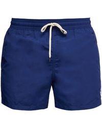 Polo Ralph Lauren Short de bain ajusté à logo brodé - Bleu