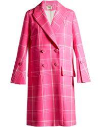 Fendi - Overcoat Overcoat - Lyst