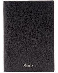 Pineider - Étui pour passeport en cuir grainé - Lyst