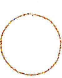Luis Morais Glass Beaded Necklace - Multicolor
