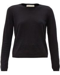 Gucci Logo-embroidered Cashmere Sweater - Multicolour