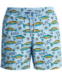 Vilebrequin - Sardine-print Swim Shorts - Lyst